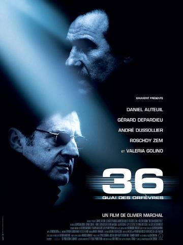 плакат фильма Набережная Орфевр, 36