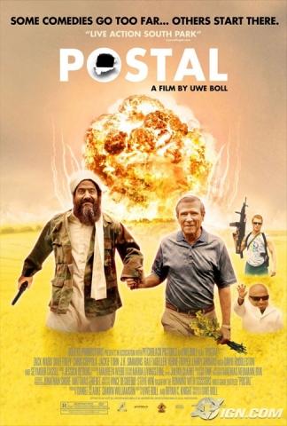 плакат фильма Постал