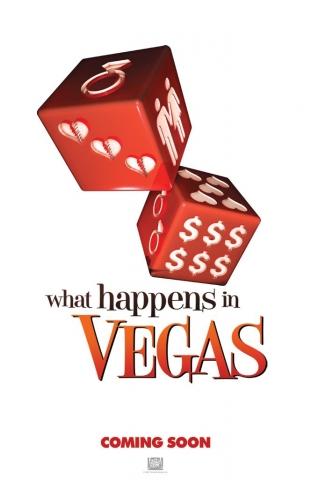 плакат фильма Однажды в Вегасе
