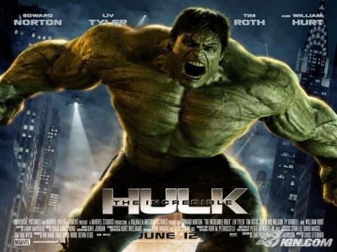 плакат фильма Невероятный Халк