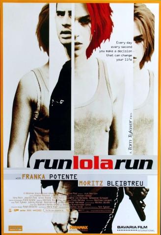 плакат фильма Беги, Лола, беги