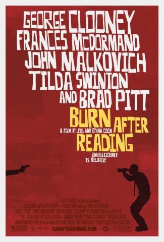плакат фильма После прочтения сжечь