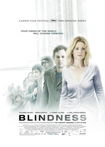 плакат фильма постер Слепота