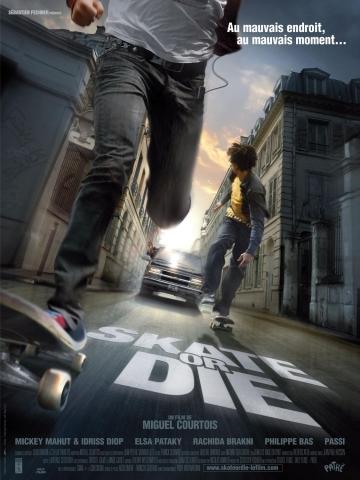 плакат фильма На скейте от смерти