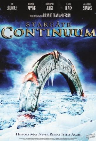 плакат фильма Звездные врата: Континуум