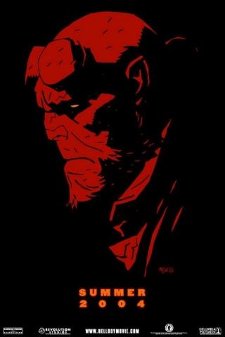 плакат фильма Хеллбой: Герой из пекла