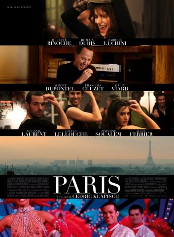плакат фильма Париж