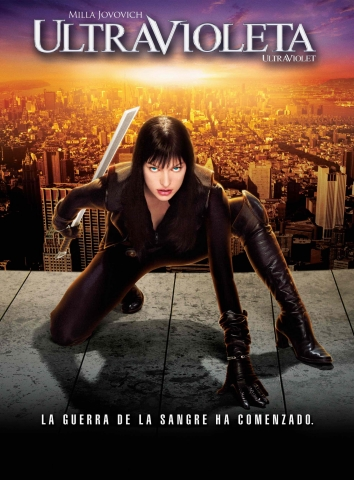 плакат фильма Ультрафиолет