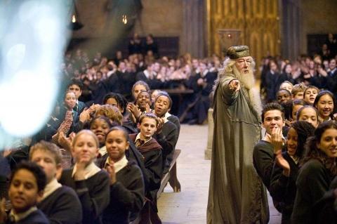 кадры из фильма Гарри Поттер и Кубок Огня Майкл Гэмбон,