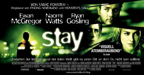 плакат фильма Останься*