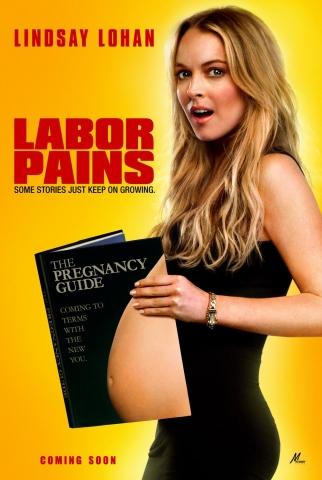 плакат фильма Временно беременна