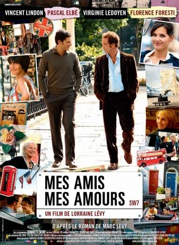 плакат фильма Друзья и любовники