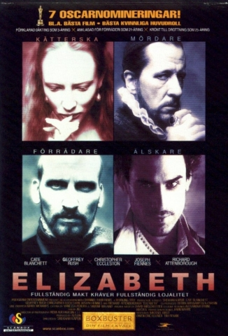 плакат фильма Елизавета