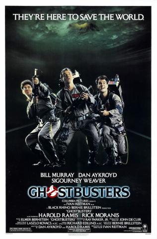 плакат фильма постер Охотники за привидениями