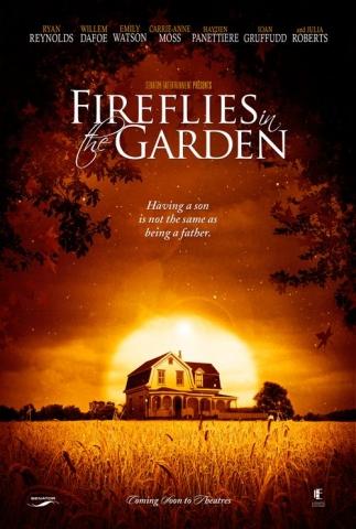 плакат фильма тизер Светлячки в саду