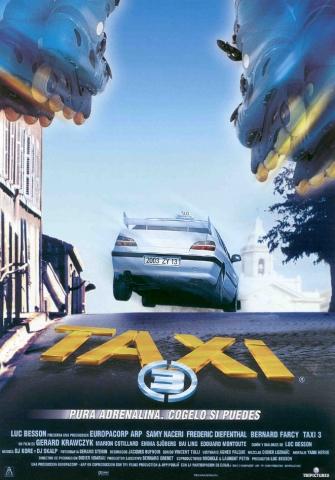 плакат фильма постер Такси 3