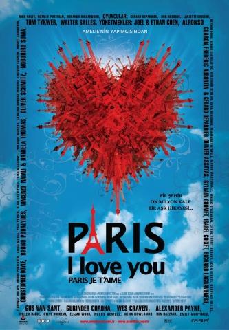 плакат фильма Париж, я люблю тебя