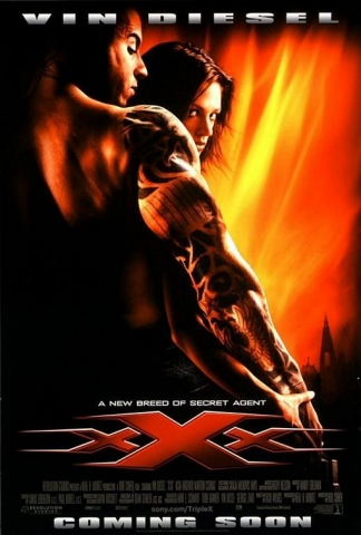 плакат фильма Три икса