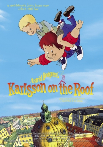 плакат фильма Карлсон, который живет на крыше