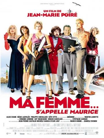 плакат фильма Мою жену зовут Морис