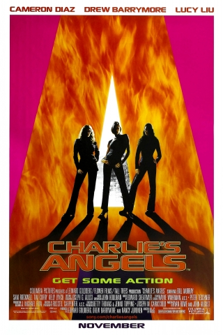 плакат фильма Ангелы Чарли