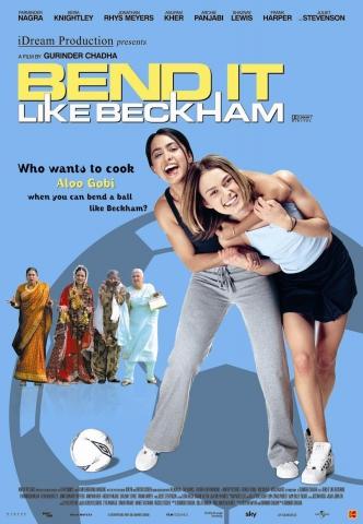 плакат фильма Играй, как Бэкхем