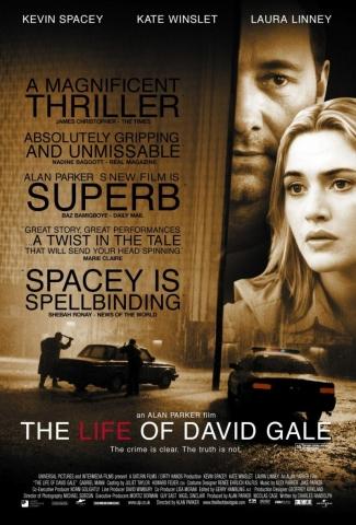 плакат фильма Жизнь Дэвида Гейла