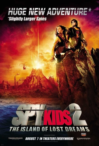 плакат фильма Дети шпионов 2: Остров несбывшихся надежд
