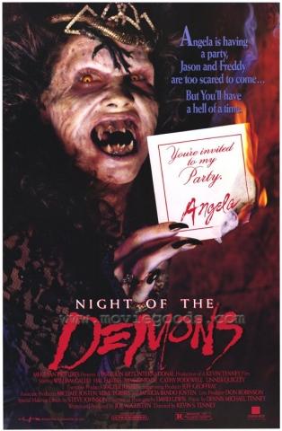 плакат фильма Ночь демонов