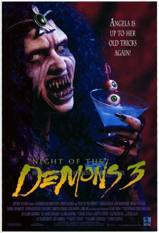 плакат фильма Ночь демонов III