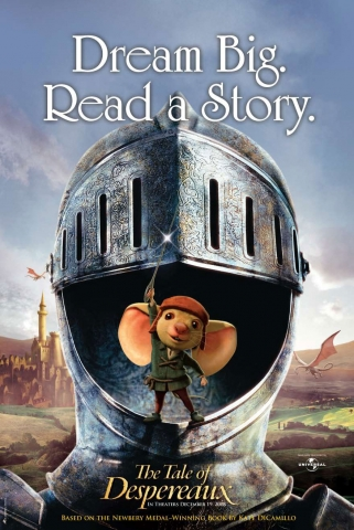 плакат фильма Приключения Десперо