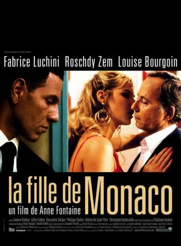 плакат фильма Девушка из Монако