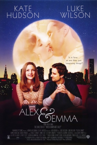 плакат фильма постер Алекс и Эмма