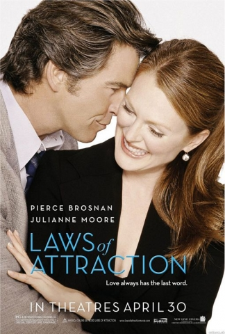 плакат фильма Законы привлекательности