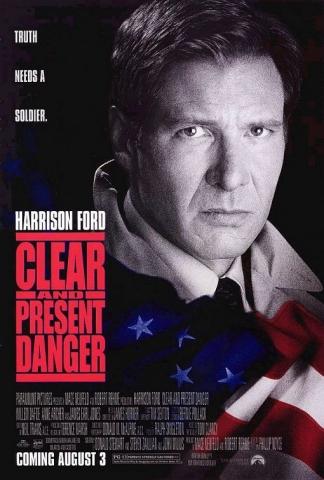 плакат фильма Прямая и явная угроза