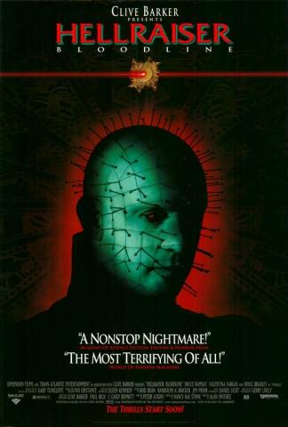 плакат фильма Восставший из ада: Кровное родство