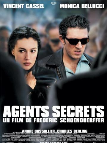 плакат фильма постер Тайные агенты