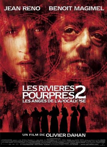 плакат фильма постер Багровые реки 2: Ангелы апокалипсиса