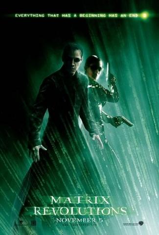 плакат фильма Матрица: Революция