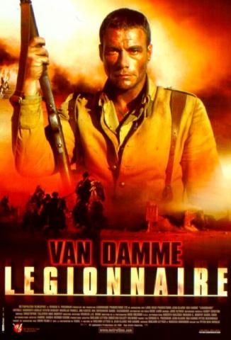 плакат фильма Легионер
