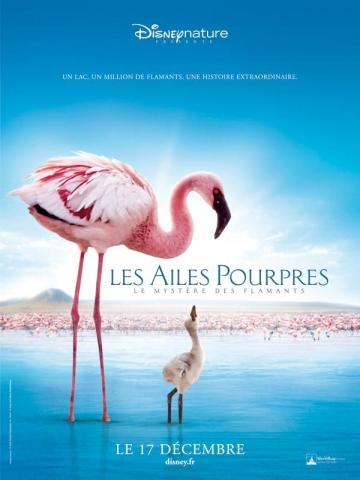 плакат фильма Пурпурные крылья: Тайна фламинго
