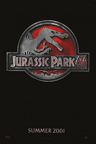 плакат фильма тизер Парк Юрского периода III
