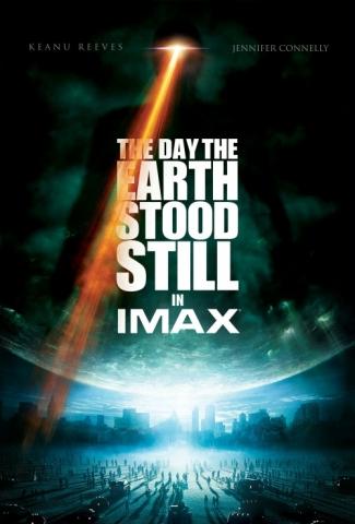 плакат фильма День, когда Земля остановилась