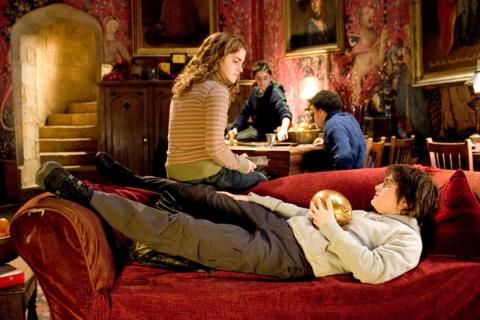 кадры из фильма Гарри Поттер и Кубок Огня Эмма Уотсон, Дэниэл Рэдклифф,