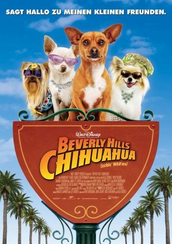 плакат фильма Крошка из Беверли Хиллз