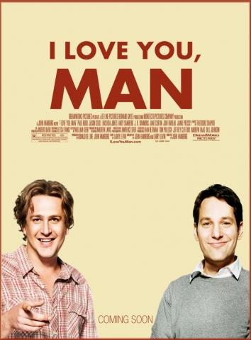 плакат фильма Люблю тебя, чувак