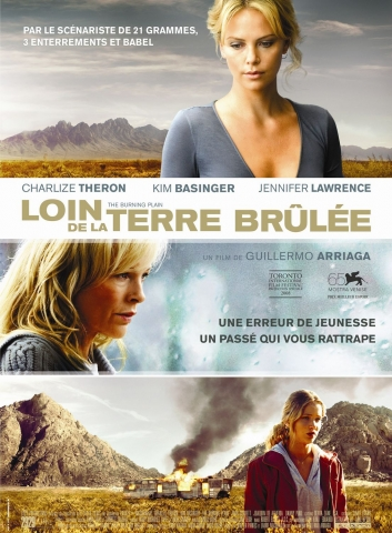 плакат фильма Пылающая равнина