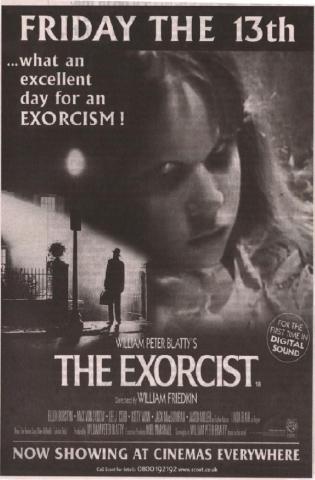 плакат фильма Изгоняющий дьявола