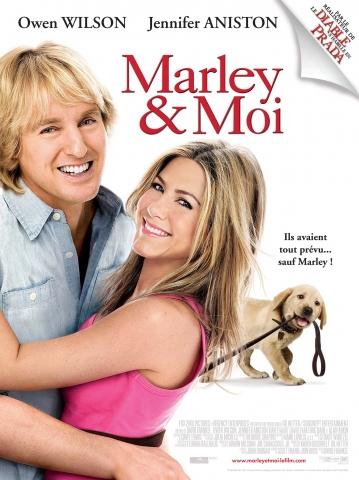 плакат фильма Марли и я