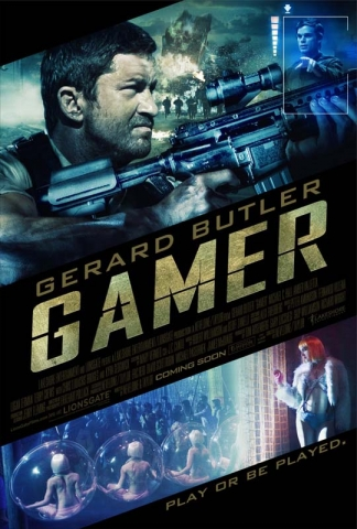 плакат фильма постер Геймер